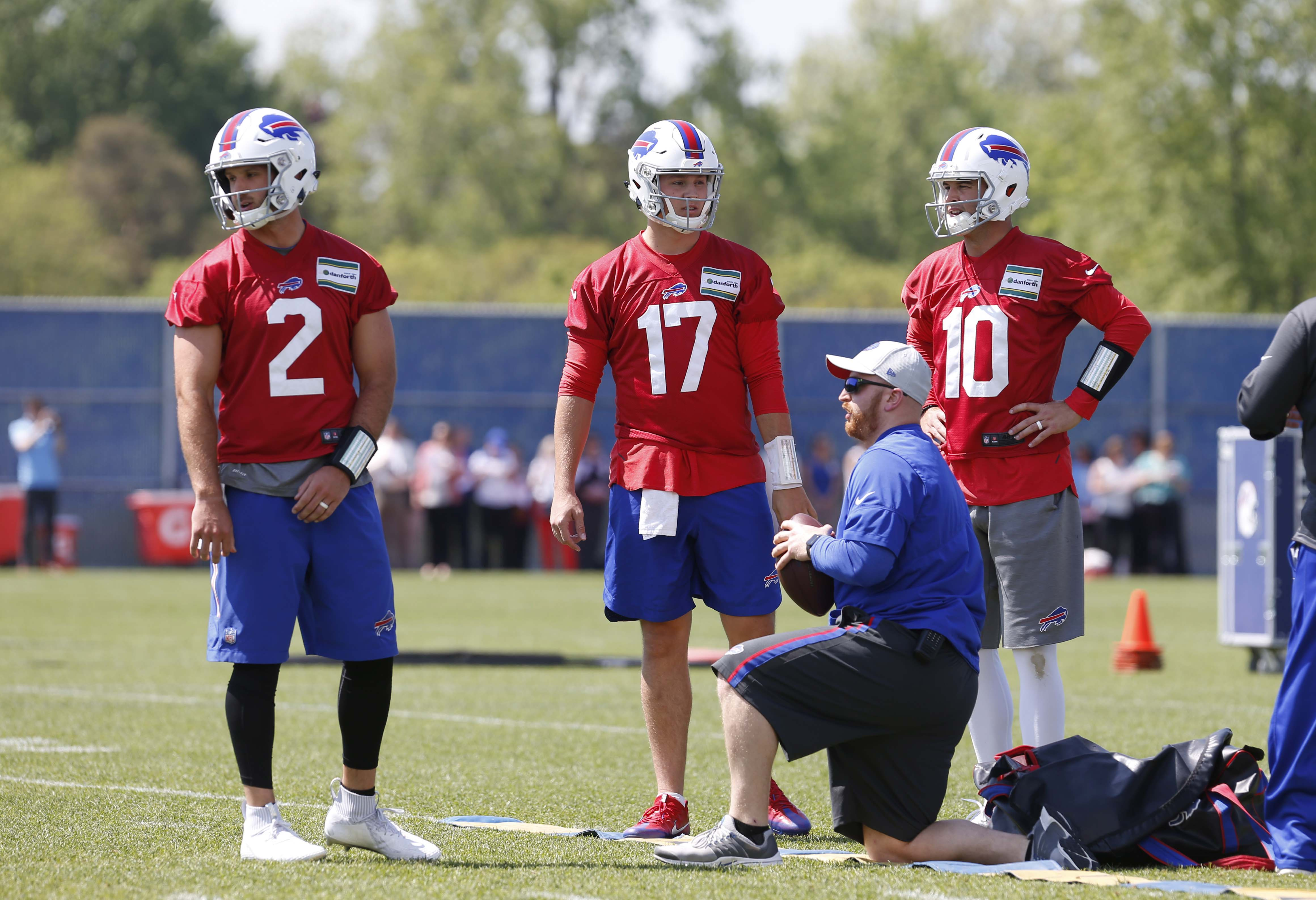 f57310385 Previewing the Buffalo Bills' 53-man Depth Chart: Pre-Training Camp Edition  (Offense)